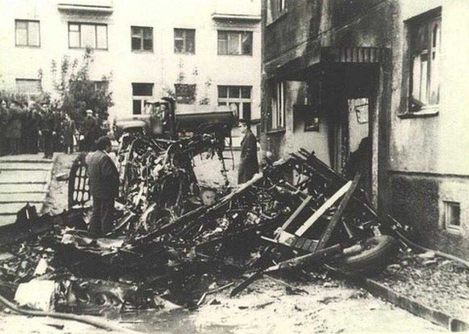 26 сентября 1976 года Владимир Серков протаранил самолетом Ан-2 жилой дом в Новосибирске