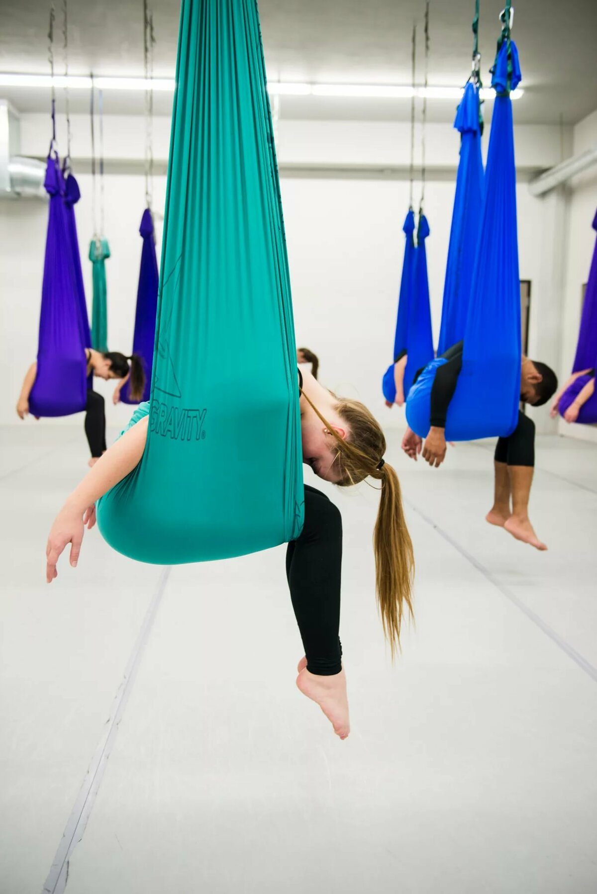 Воздушная йога похудеть