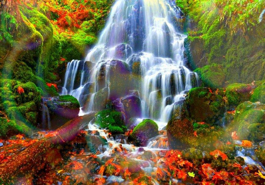 музей картинка водопада печать большое
