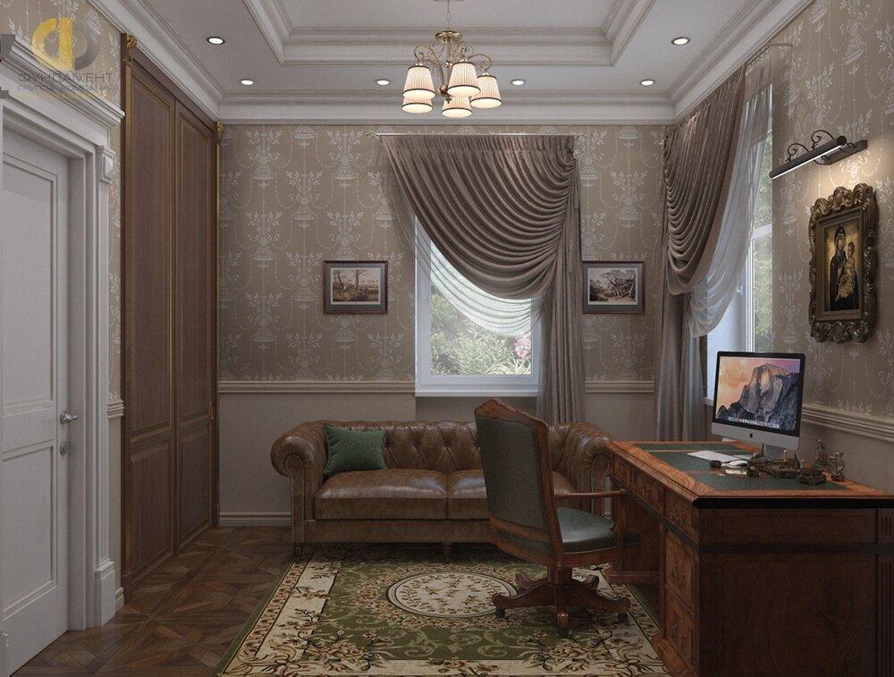 квартире стиле обои для рабочего кабинета в квартире фото бисером прежде всего