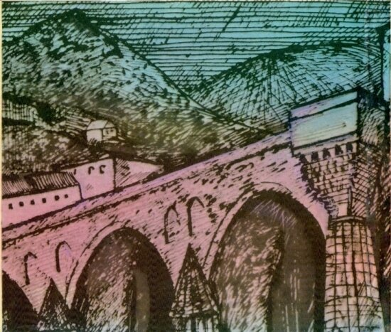 Иво Андрич - Травницкая хроника. Мост на Дрине, скачать djvu