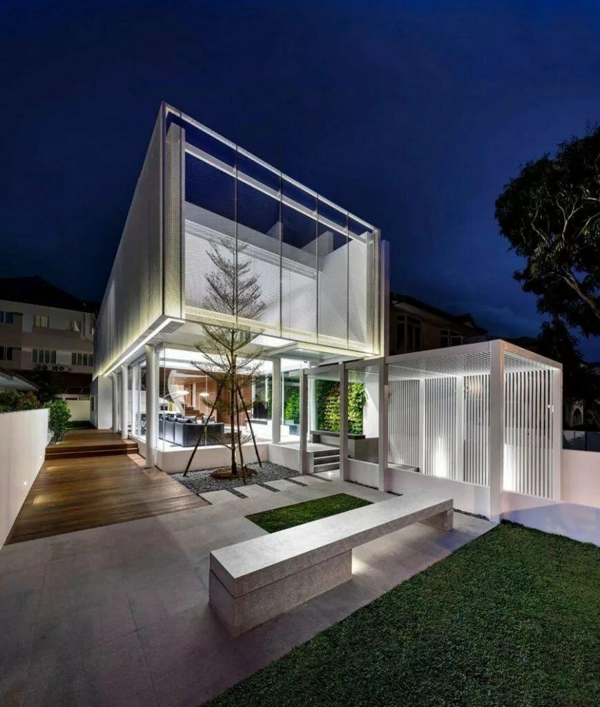 картинки к домов в стиле хай-тек фото