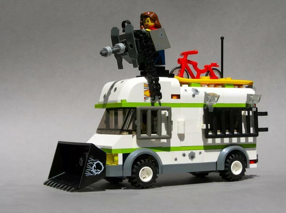 они лего машины для зомби апокалипсиса браузеры