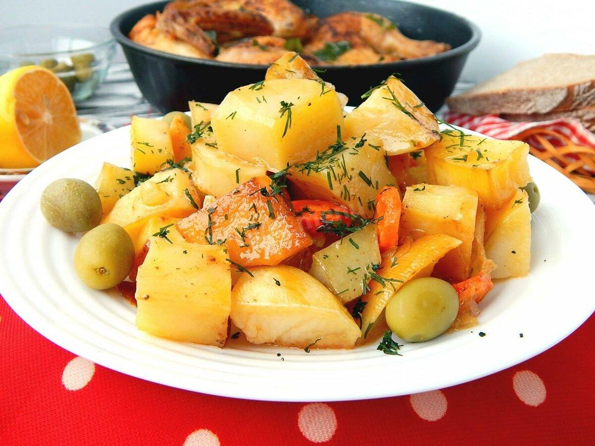 Вкусно приготовить картошку в картинках