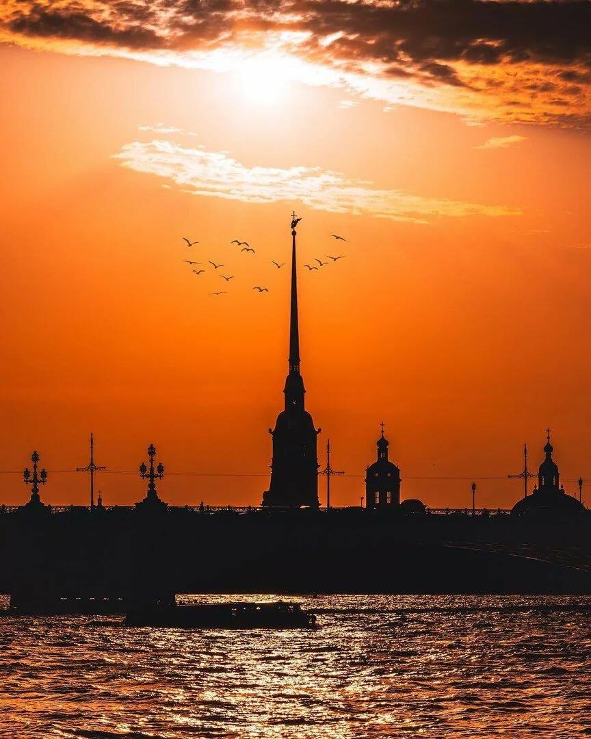 Картинки санкт петербурга в закате