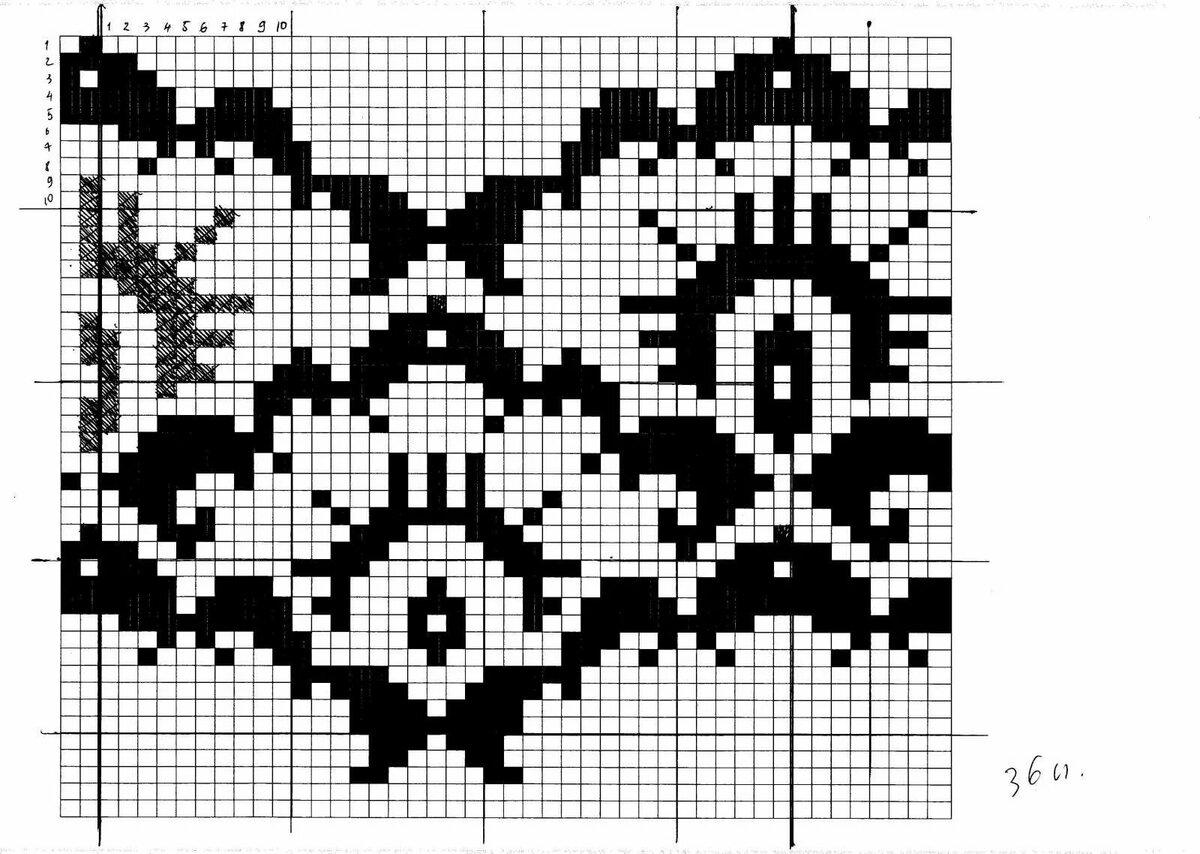 замерший картинки черно белые узоры спицами возникновение полипов