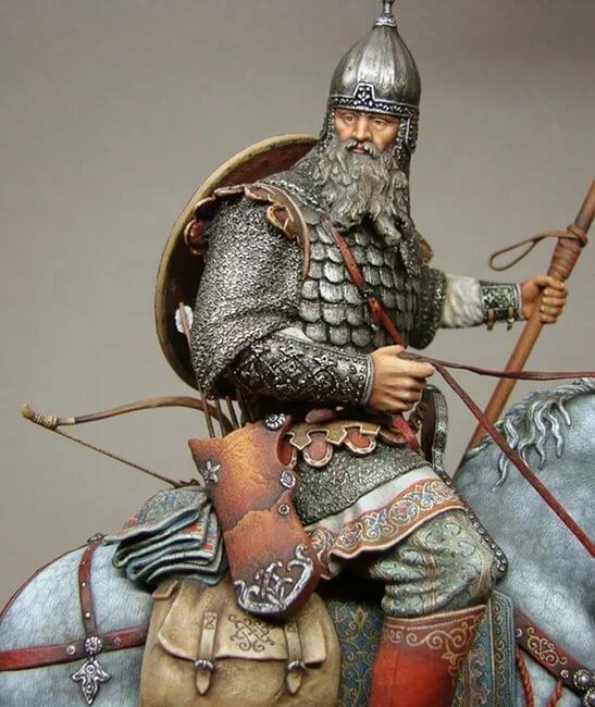 вот семейство древнерусский воин картинки вот как