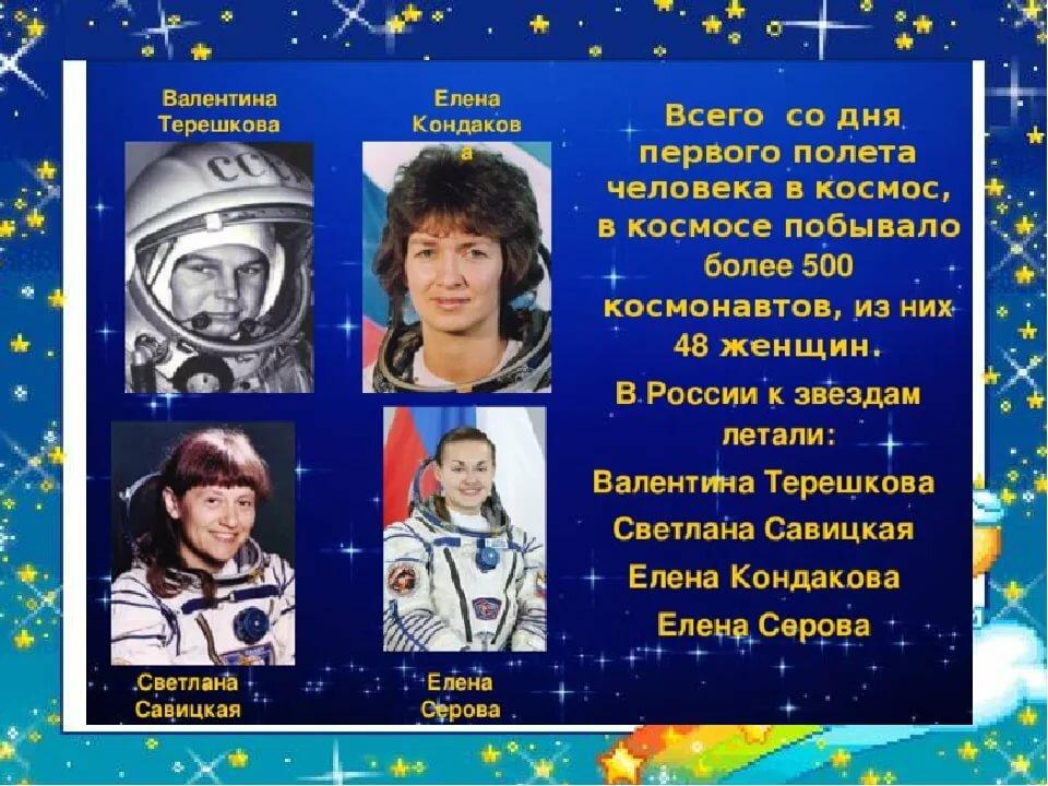 фото русских космонавтов с именами внимание нужно