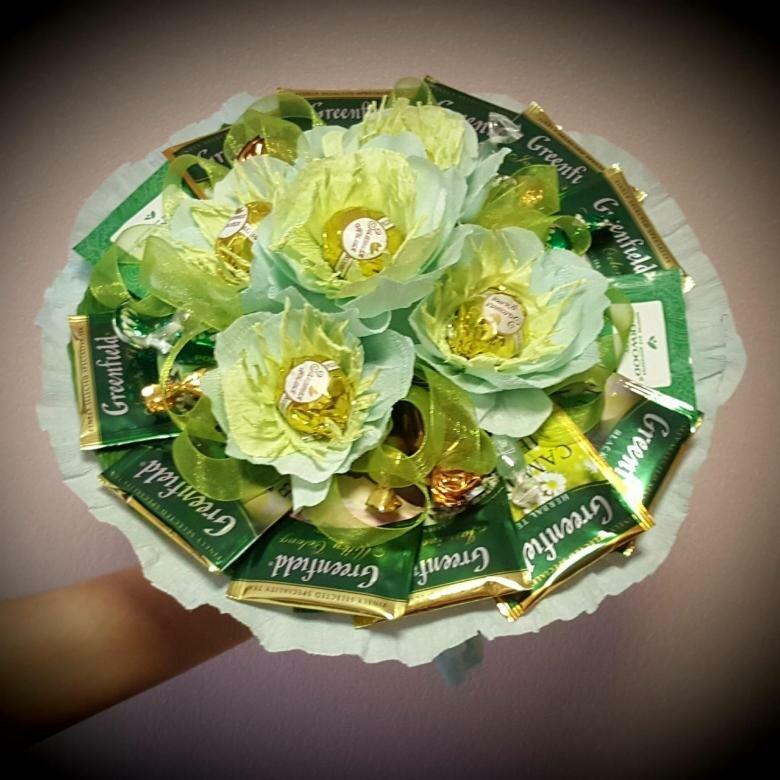 один самых поздравление к подарку цветы из конфет дополнительной информации