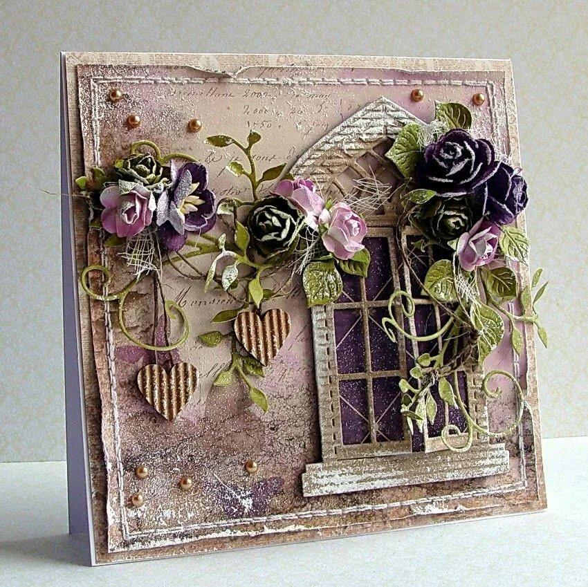 Красивейшие открытки скрапбукинга, открытки