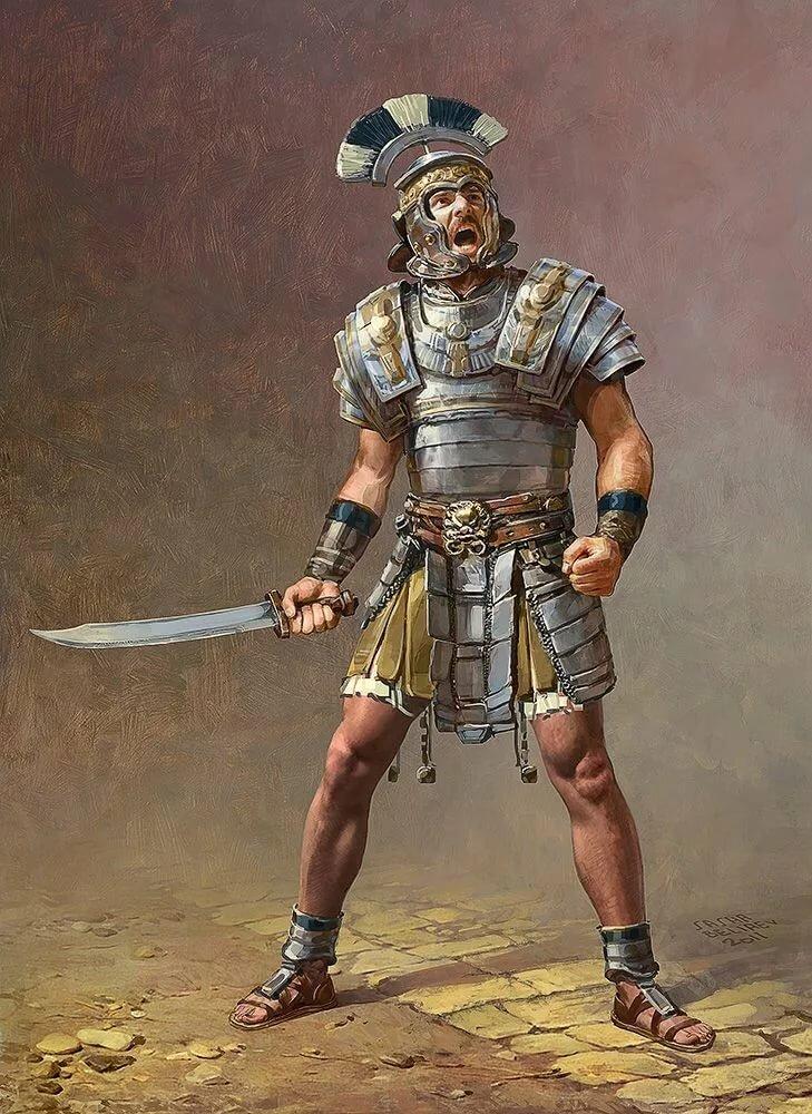 древние бойцы картинки няшек