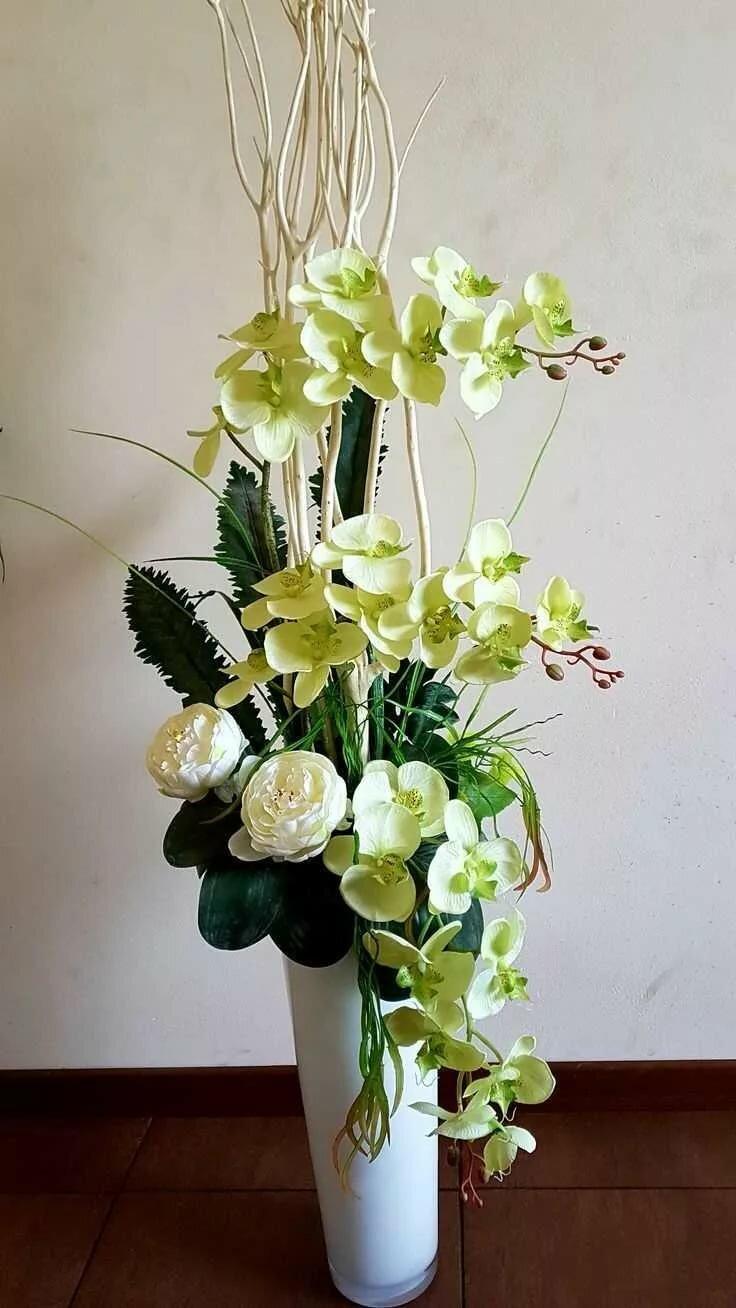 Искусственные цветы картинки в вазу