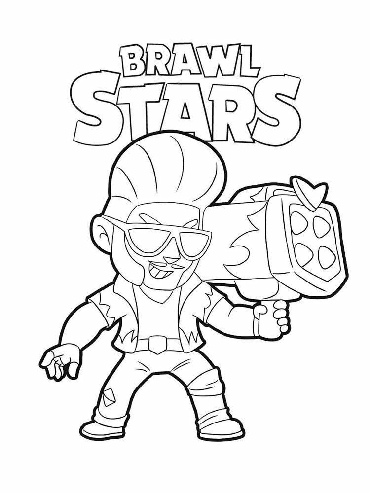 «Раскраски Браво Старс (Brawl Stars). Скачать и ...