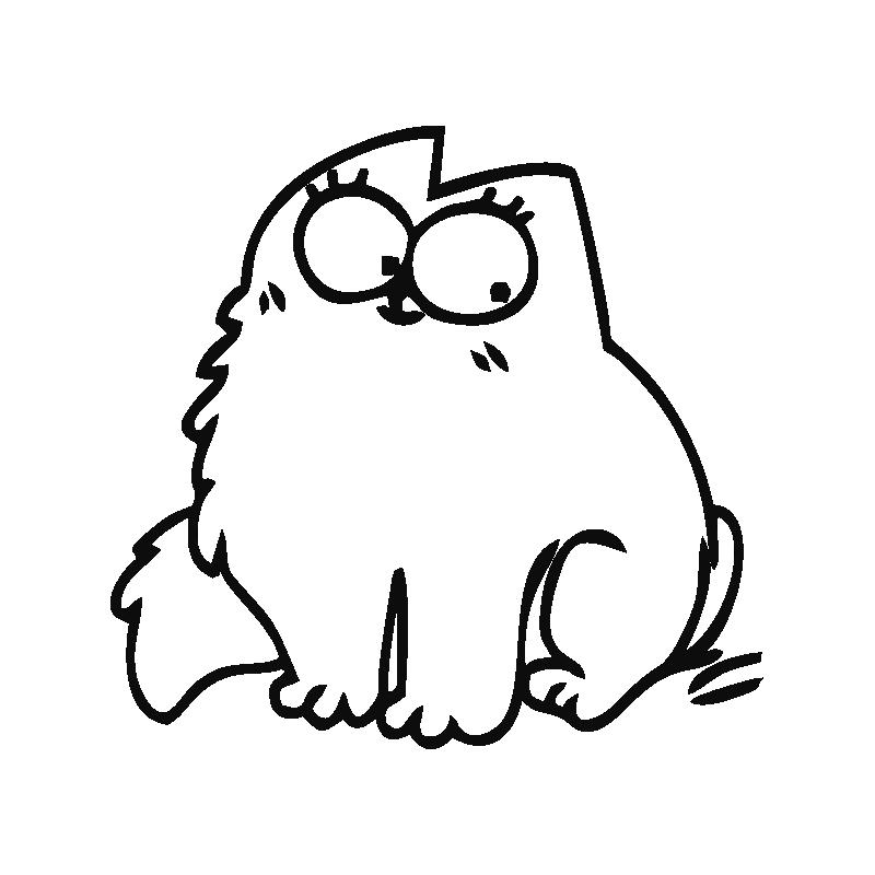 Смешной кот саймон картинки