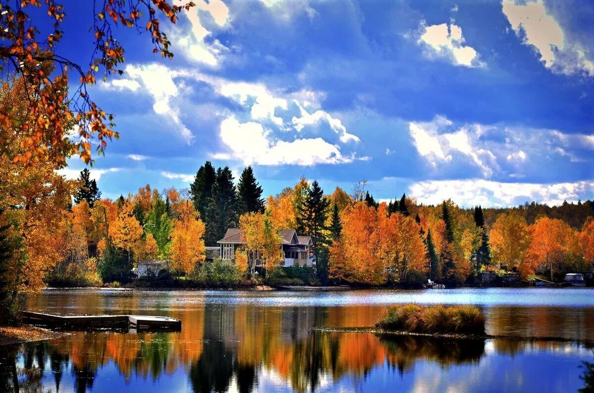 красивые пейзажи осени фото картинки душа