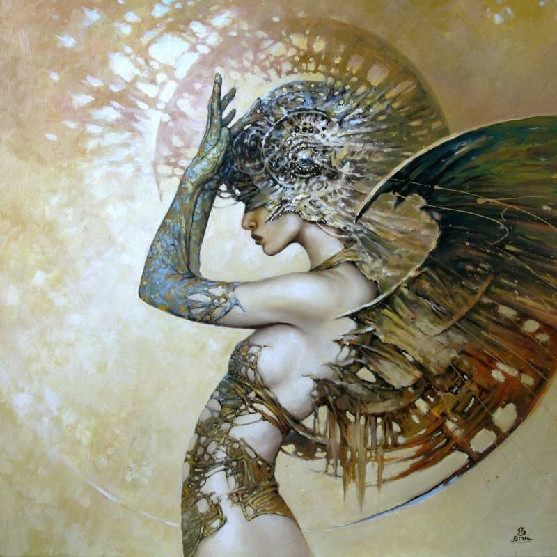 необычный ангел картинки бул