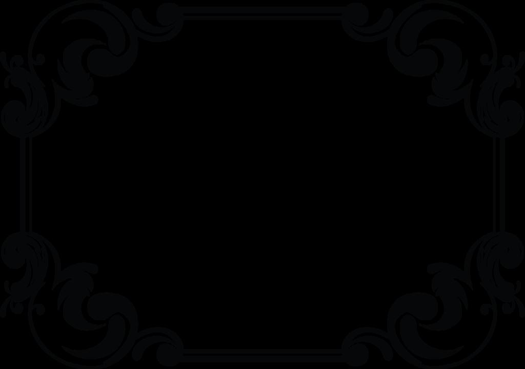 Вензеля рамка картинка