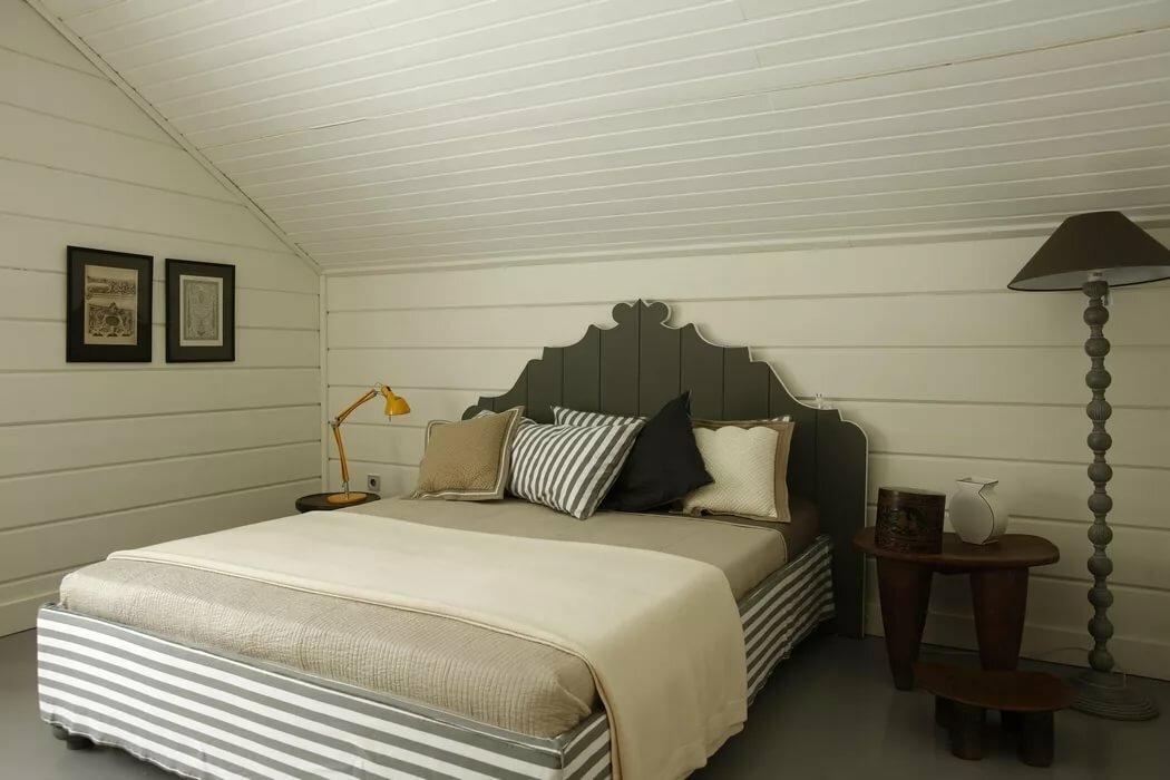 Спальня в персиковых тонах фото