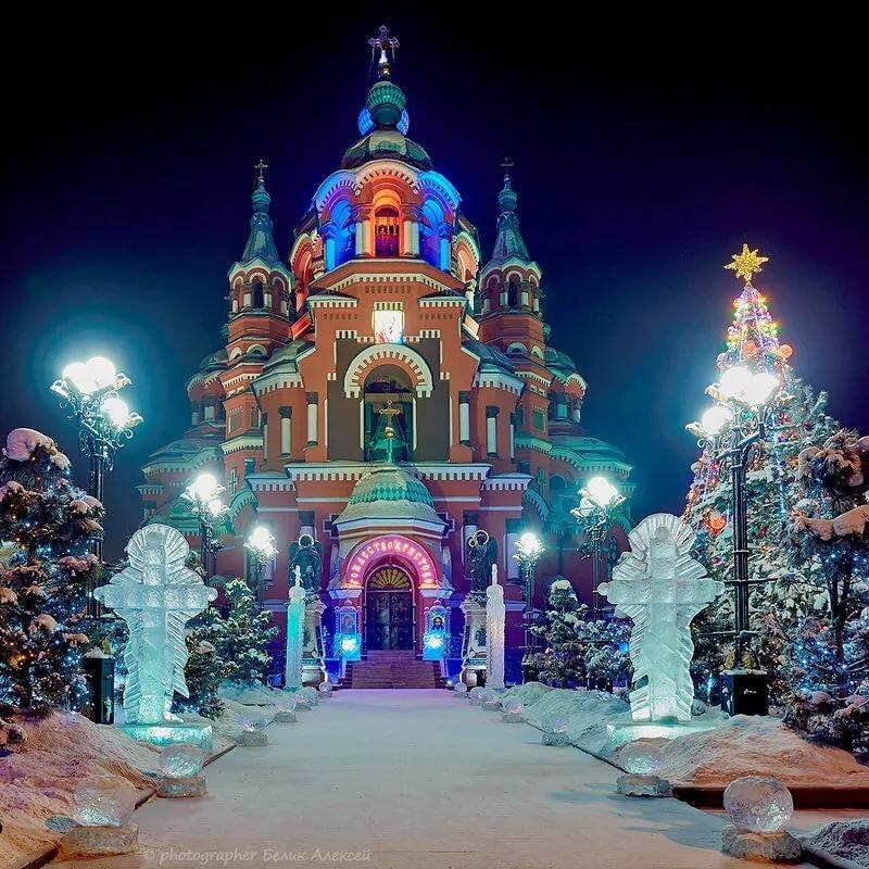 Рождество в россии картинки красивые
