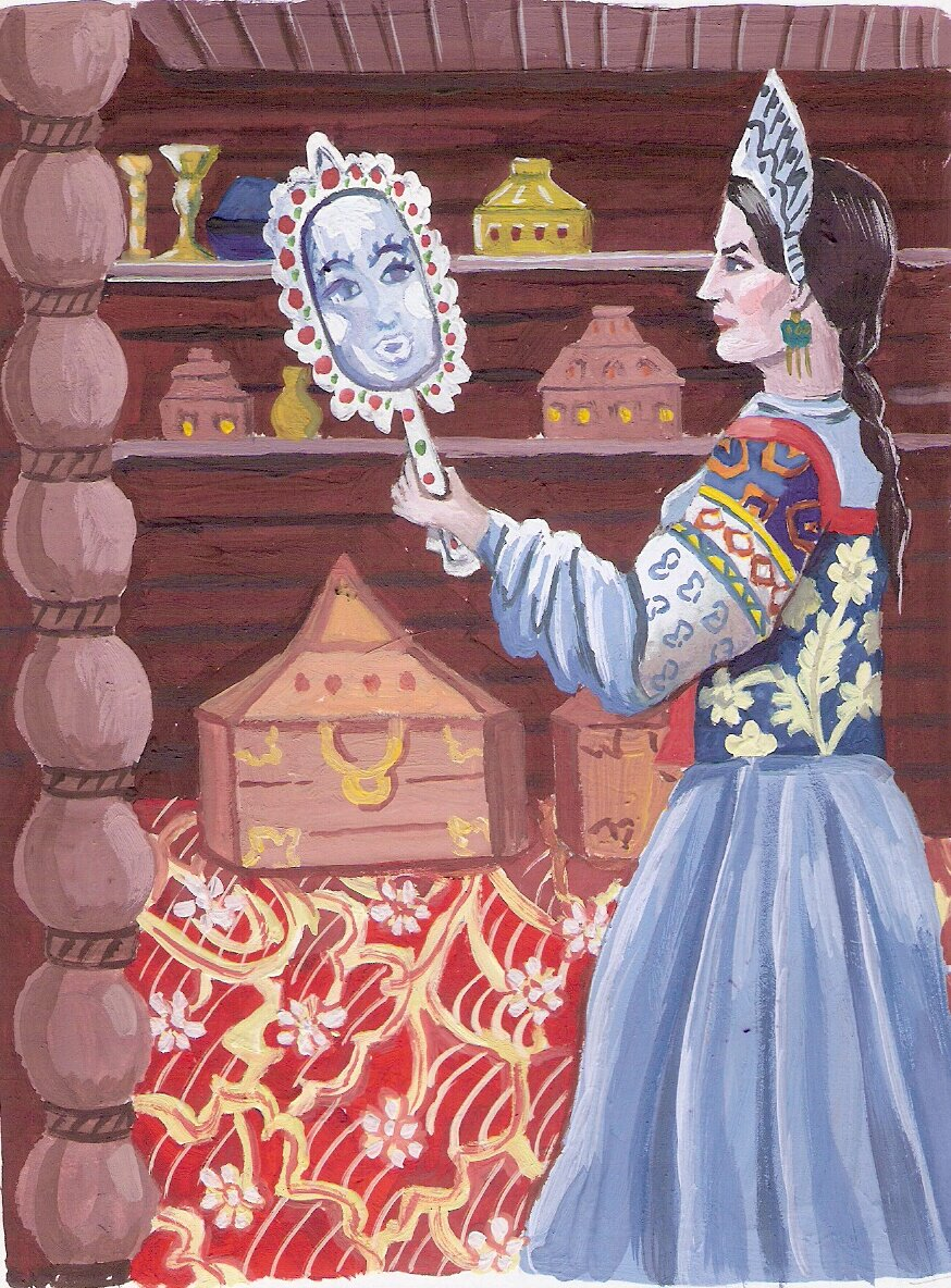 Картинки из русских сказок пушкина