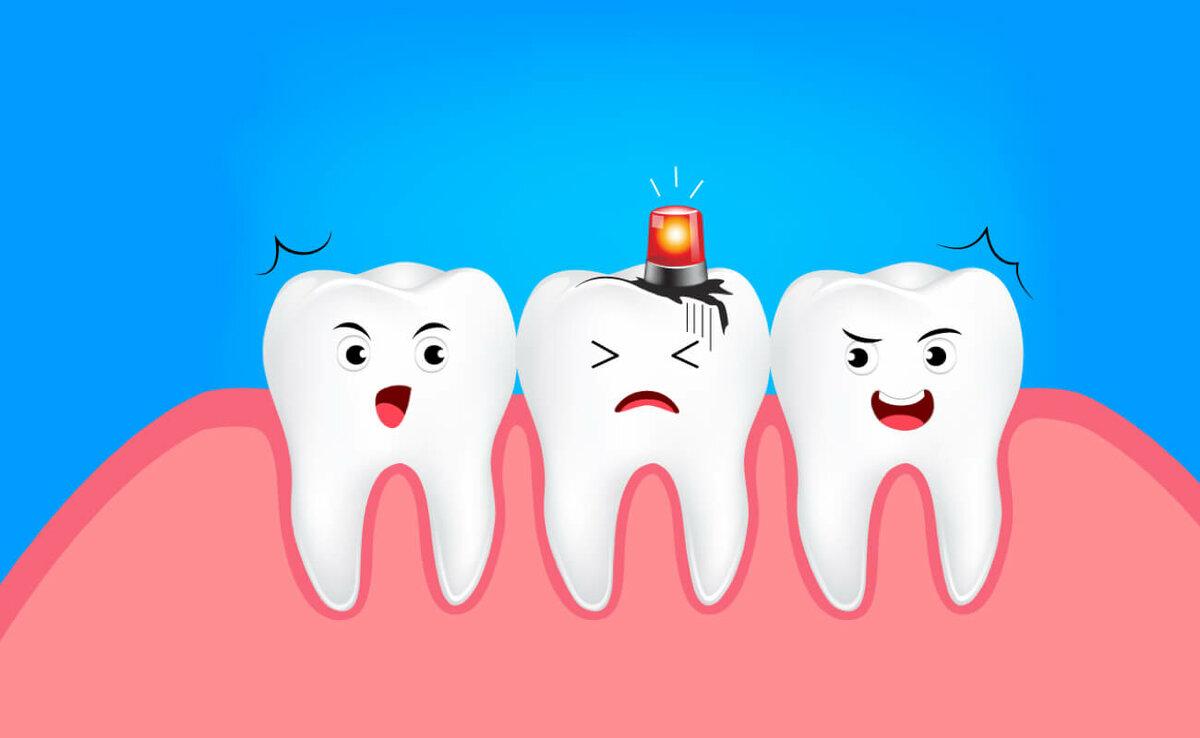 Поздравления днем, смешные картинки с зубами для детей