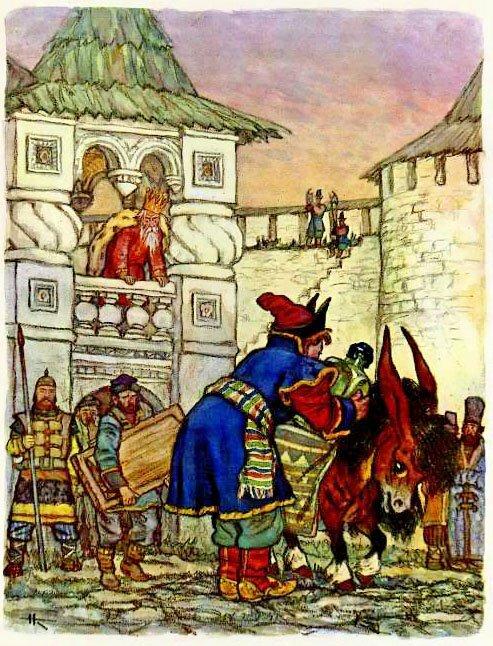 древние иллюстрации художника николая кочергина фото стоит красивом месте