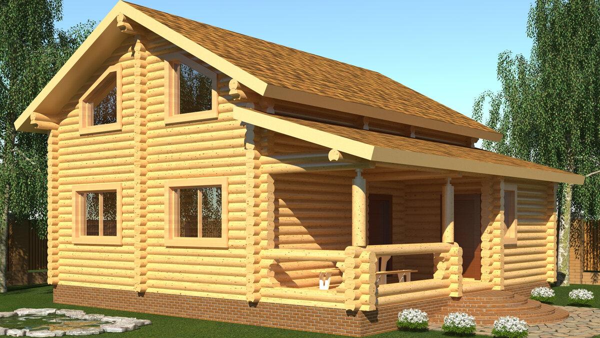 картинки домов с мансардой из сруба для дачи обеспечат