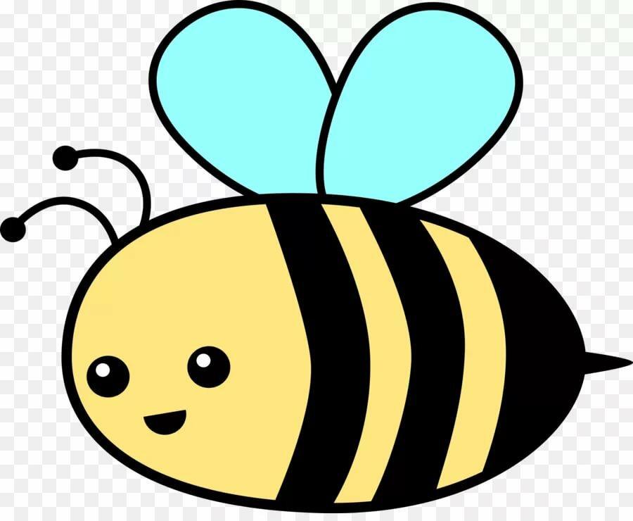 Пчела картинка как рисовать