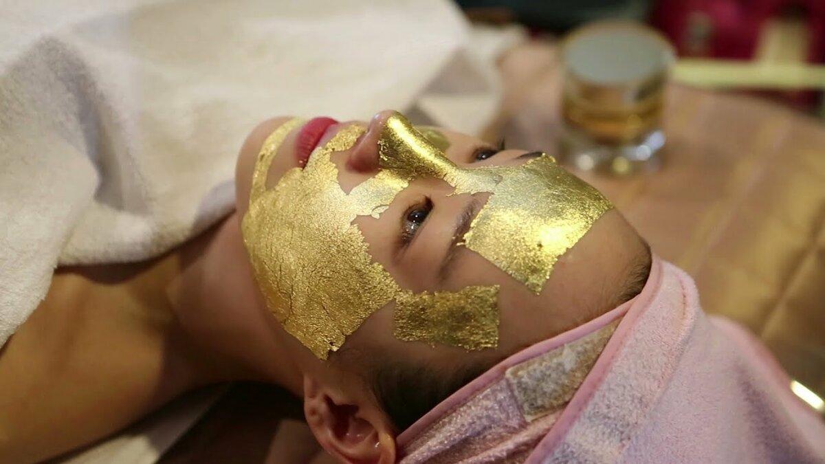 Kaprielle - омолаживающая маска из сусального золота в Симферополе