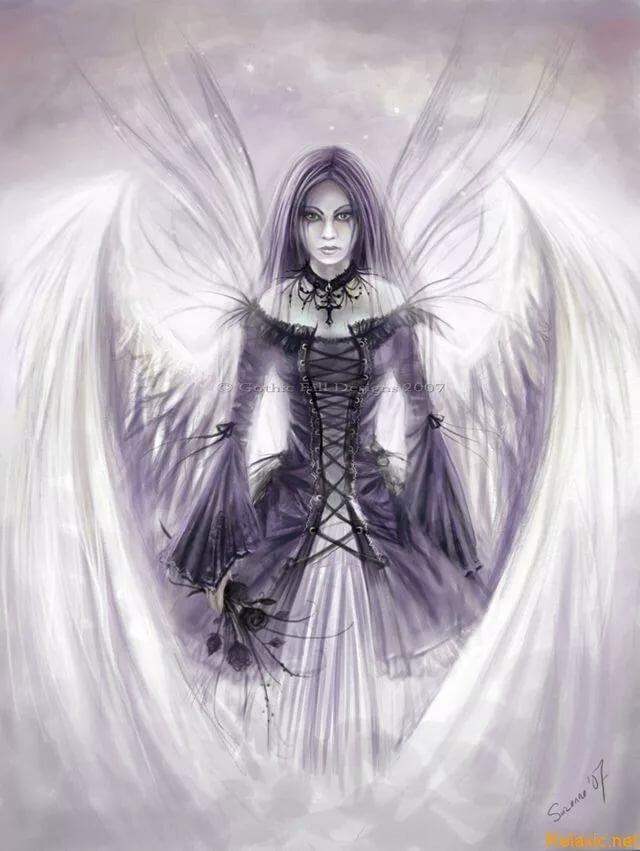картинки готика ангелы найти частного мастера