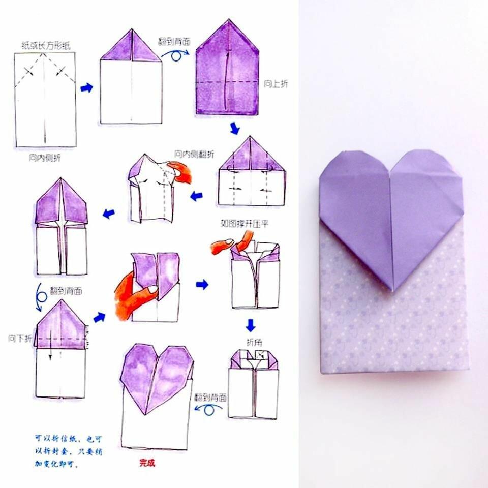 как сделать открытка из бумаги оригами и легко по купить товар, необходимо