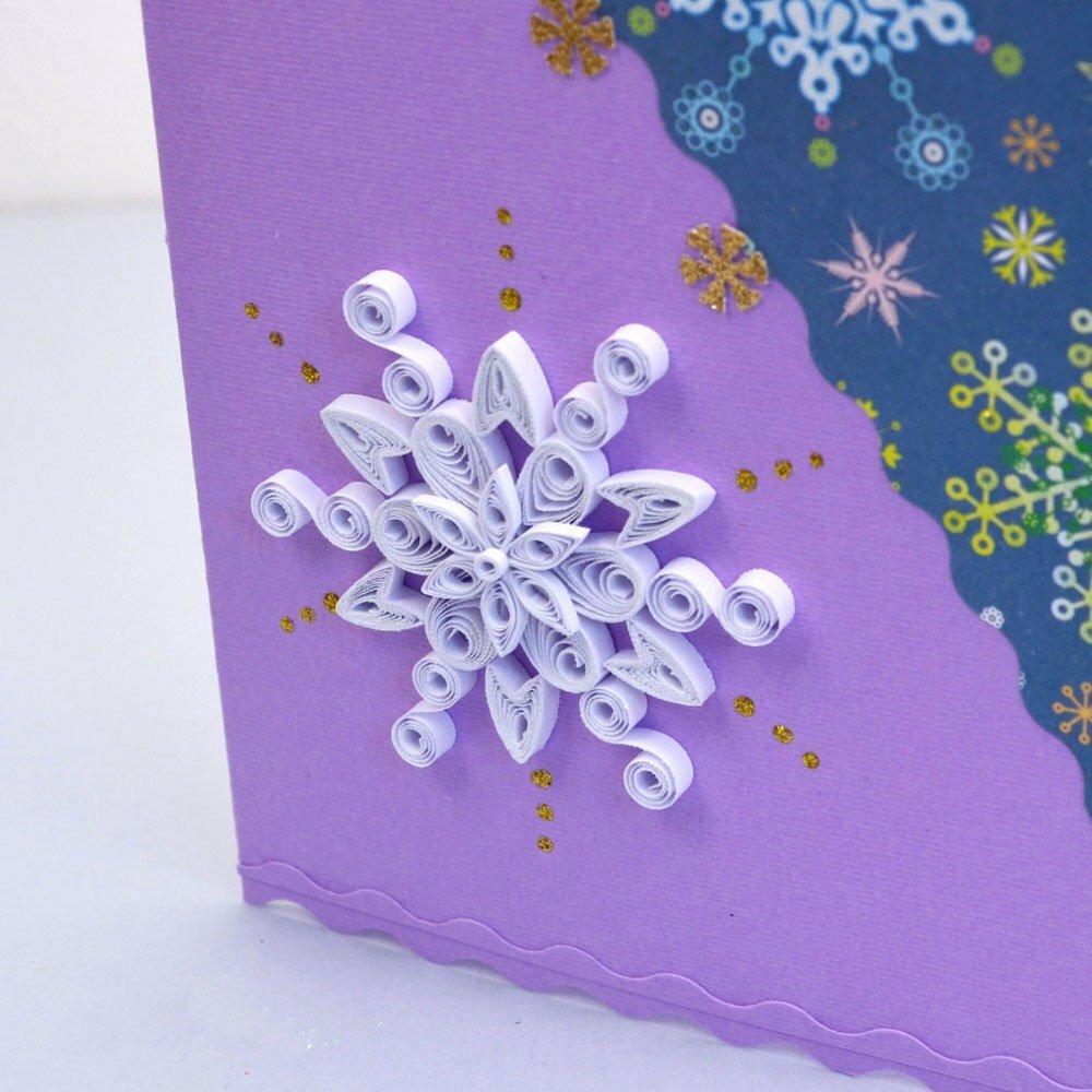 велком открытка из квиллинга на новый год для начинающих значит