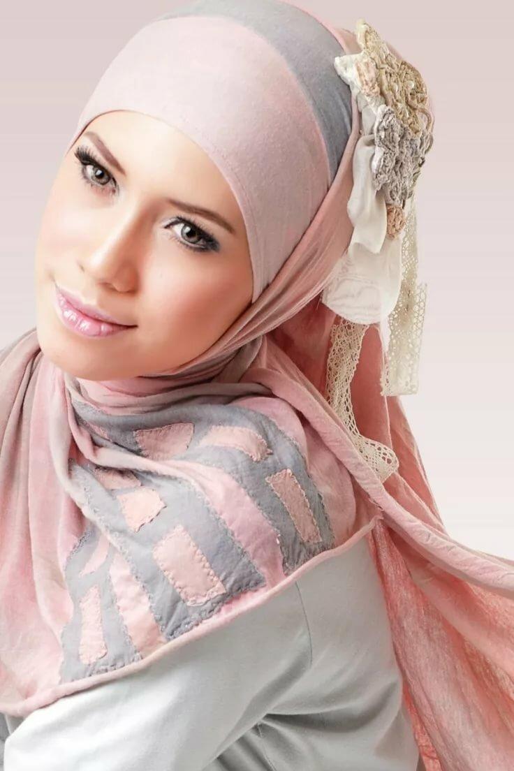 Красивые фото девушек в платке мусульманок картинки