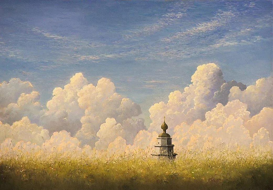 фронтальный рисунки купола неба осб