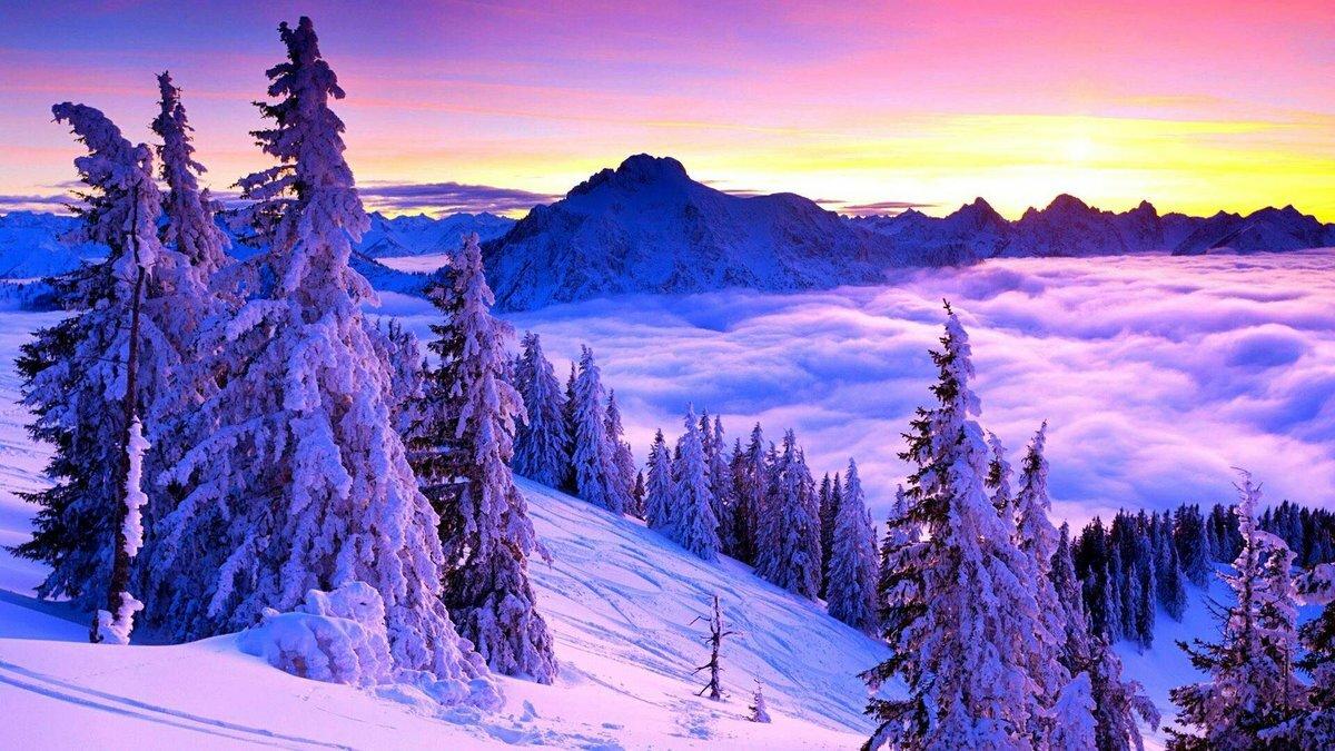 отправилась картинки для рабочего стола зима пейзажи результате обстрела