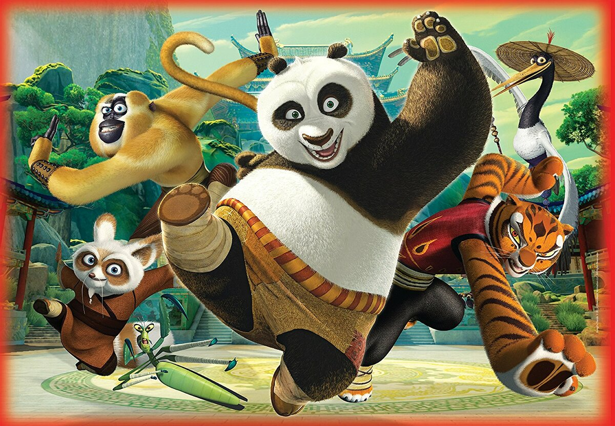 Картинки из мультиков кунфу панда