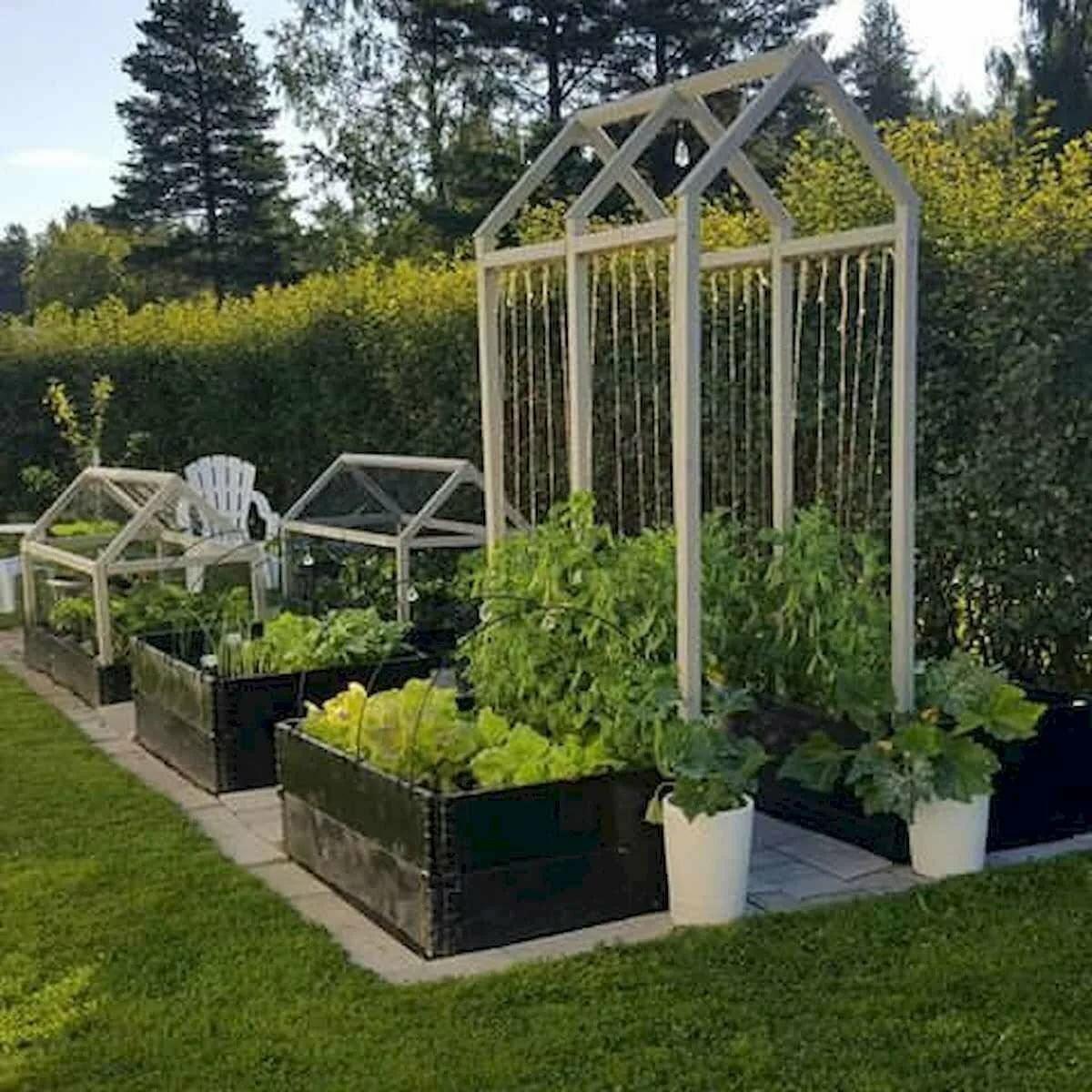 Оформление сада огорода в картинках
