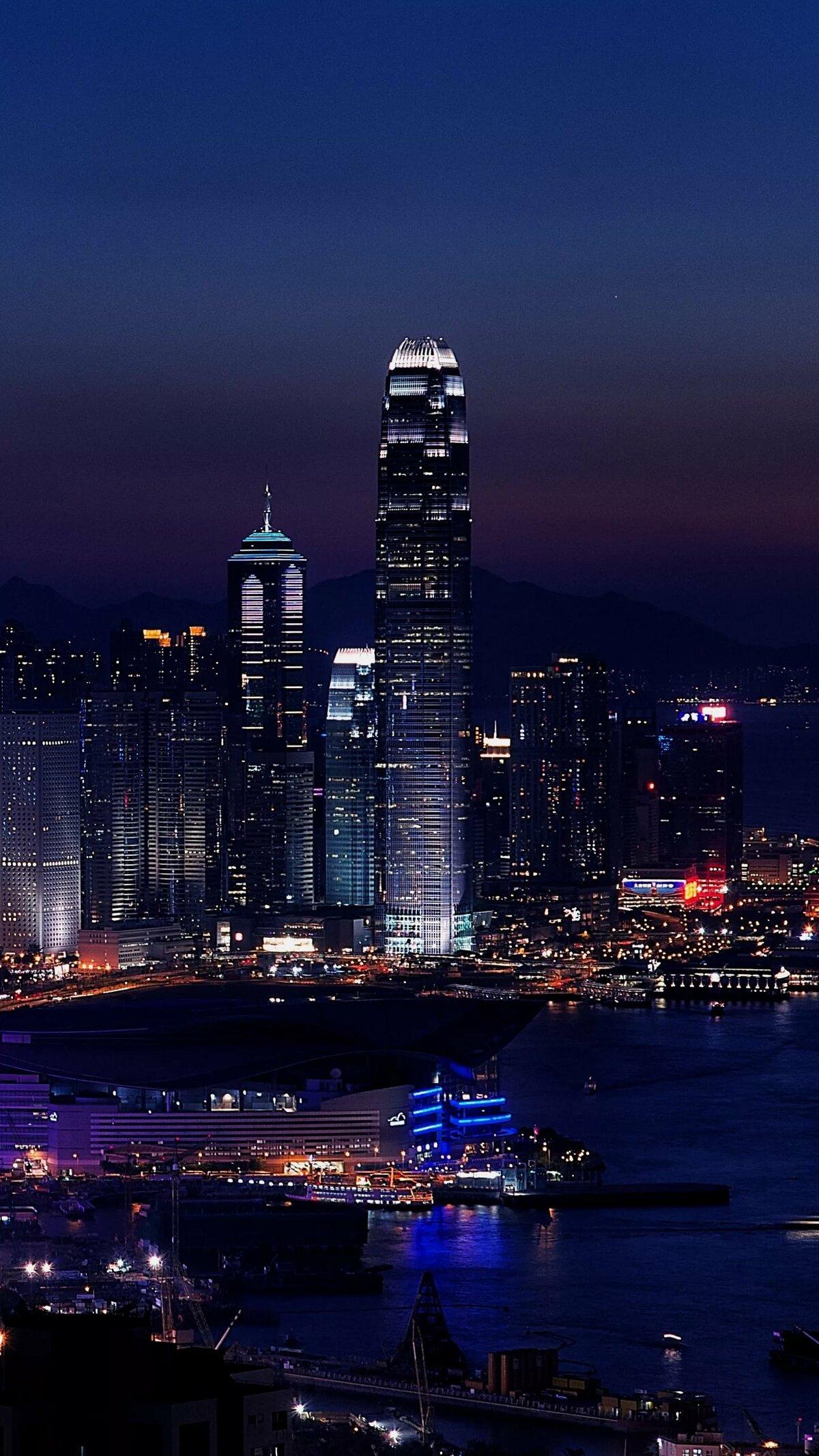 этот ночной город картинки красивые вертикальные открытку