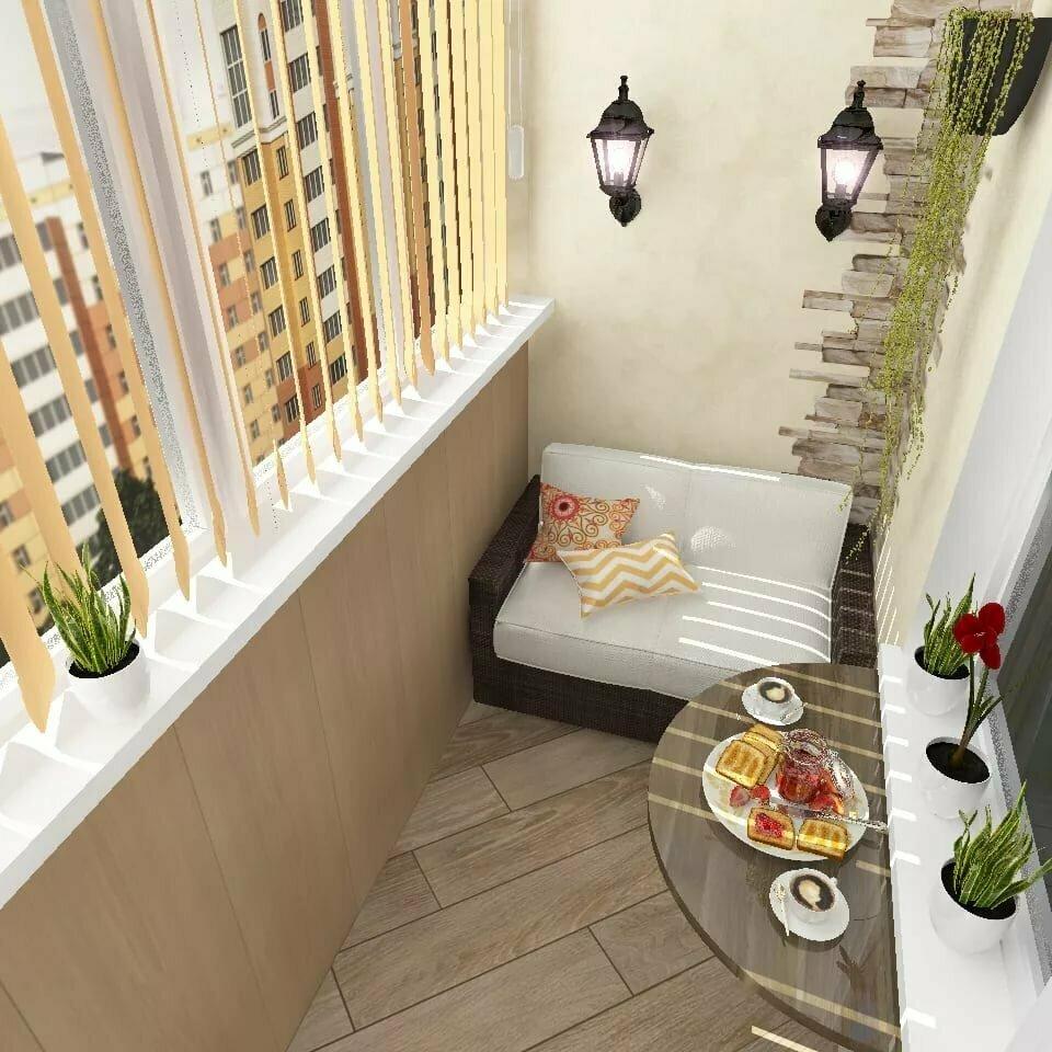 Уголки на балконе картинка
