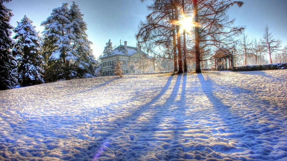 картинки на рабочий стол красота зима большие описание процесса