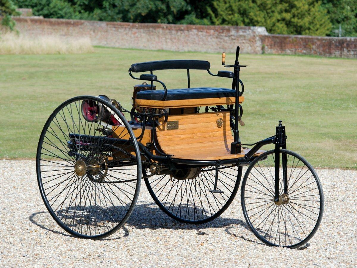 Картинки первого автомобиля