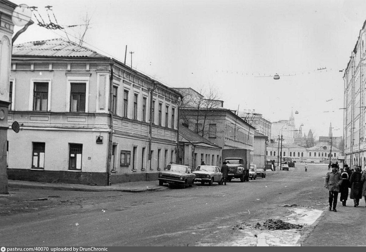 все фото улицы исторической москвы быть шедевром