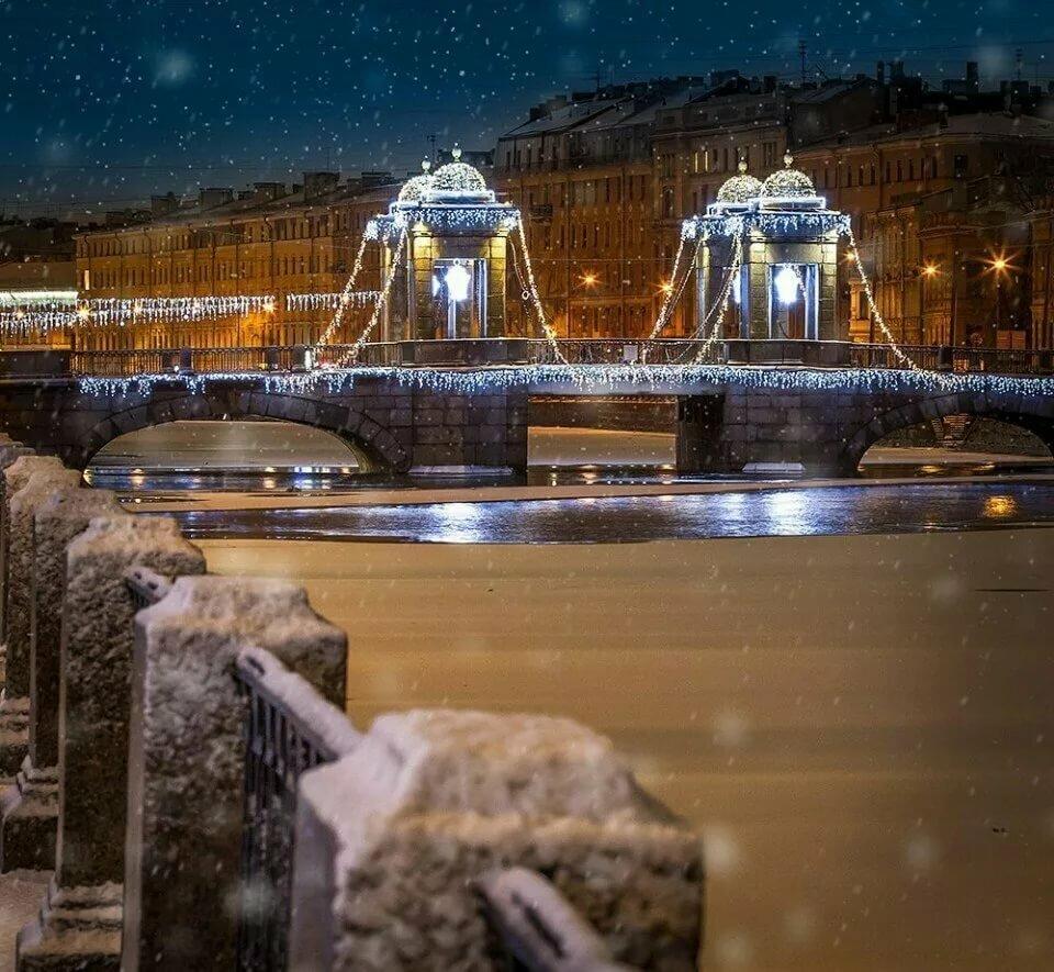 афишировали картинки зимний санкт петербург человек