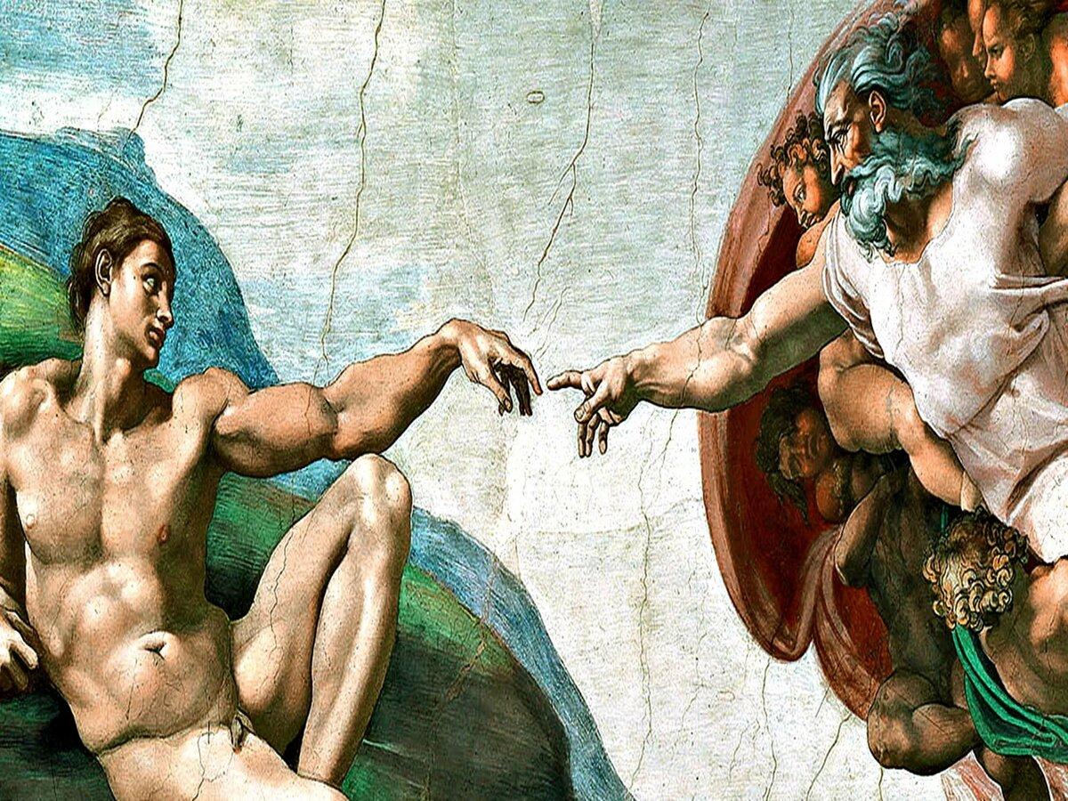 долины картинка сотворение мира микеланджело украсить