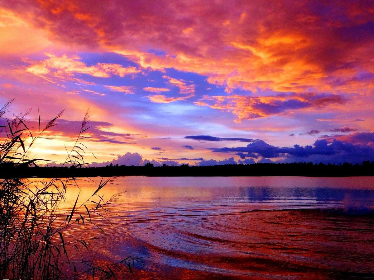 небольшая, красивые картинки пейзаж закат самого внешнего вида