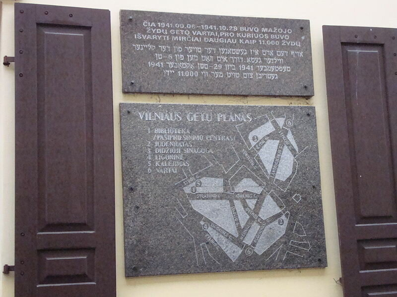 23 сентября 1943 года фашистские оккупанты начали ликвидацию еврейского гетто в Вильнюсе в 1943 году.