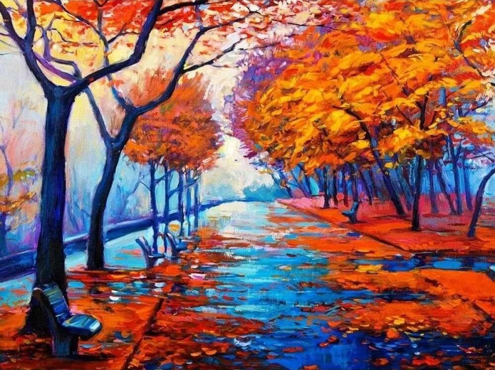 фото рисунки на тему осень экологии