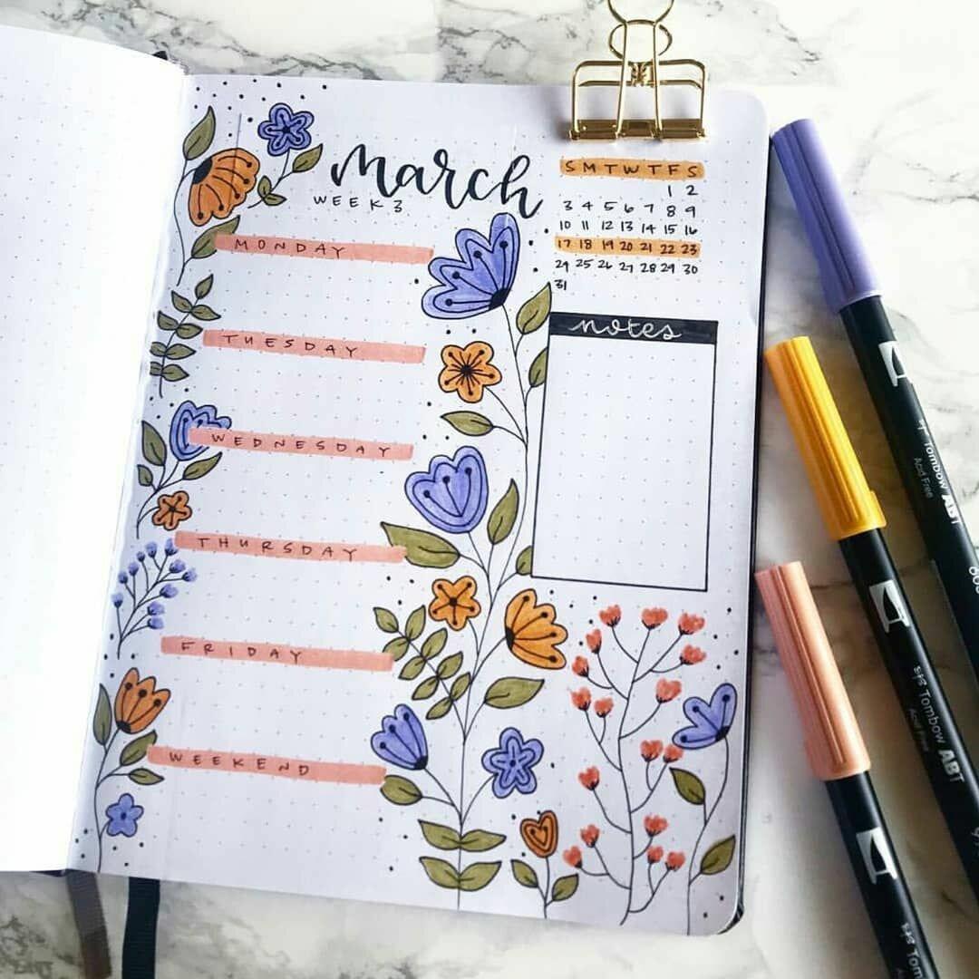 Ежедневник с картинками внутри