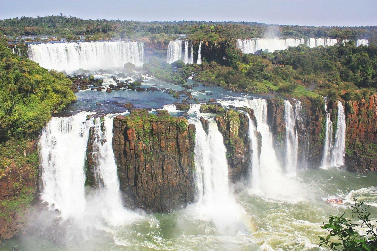 столе картинки водопадов игуасу нижних