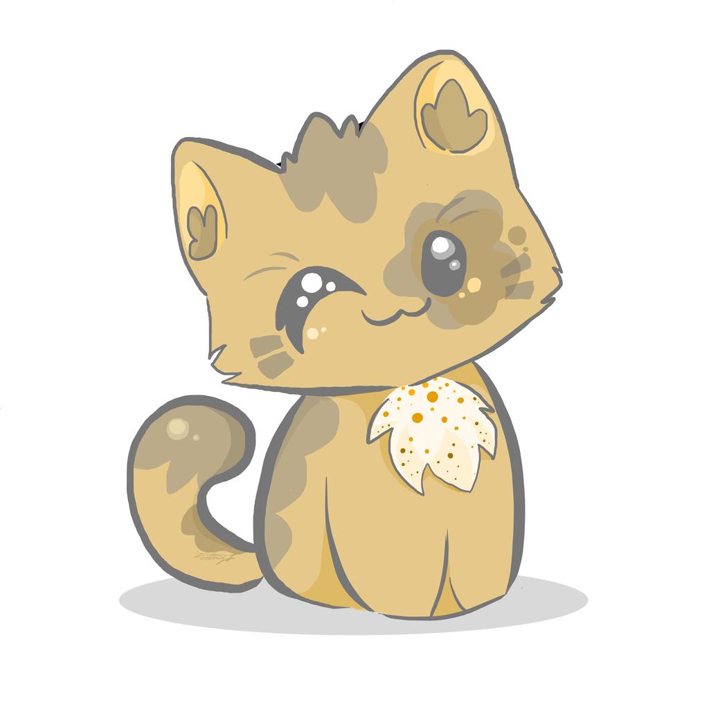 Картинки чиби кошек